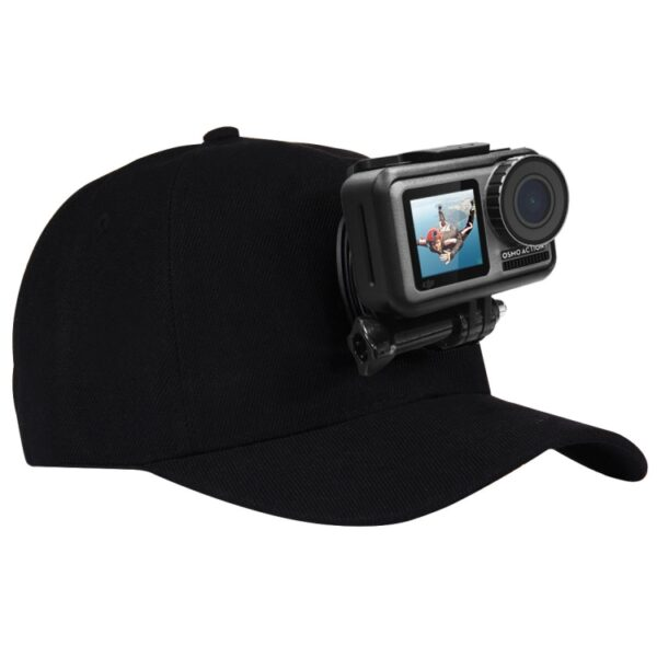 Puluz Cap with J Hook Buckle Mount For Action Cameras