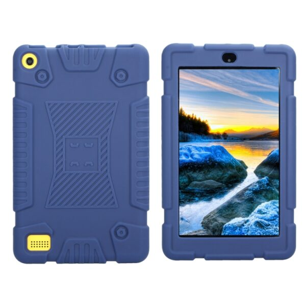 """Kindle Fire 7"""" 2017 Shockproof Silicone Cover Navy"""