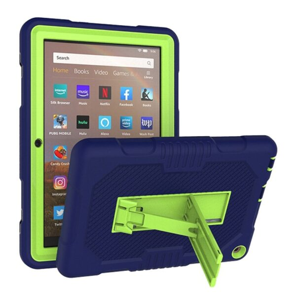 Shockproof Cover For Kindle Fire HD 8 2020 Blue Green
