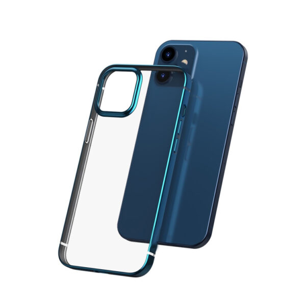 Electroplated Cover iPhone 12 Mini 5.4 inch Blue