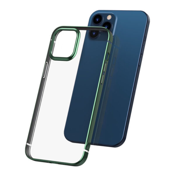 Electroplated Cover iPhone 12 Pro Max 6.7 inch Green