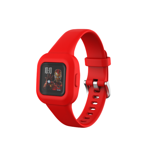 Silicone Watch Strap Band Garmin Vivofit JR 3 Red