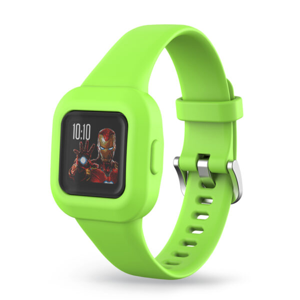 Silicone Watch Strap Band Garmin Vivofit JR 3 Green