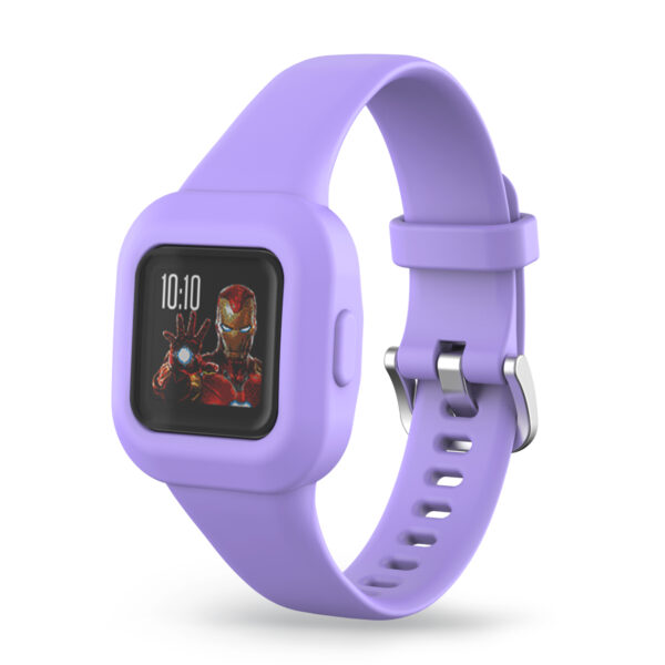 Silicone Watch Strap Band Garmin Vivofit JR 3 Purple