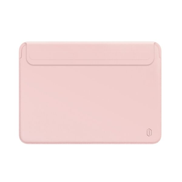 Ultra Skin Leather Sleeve Bag For MacBook 13 inch Pink