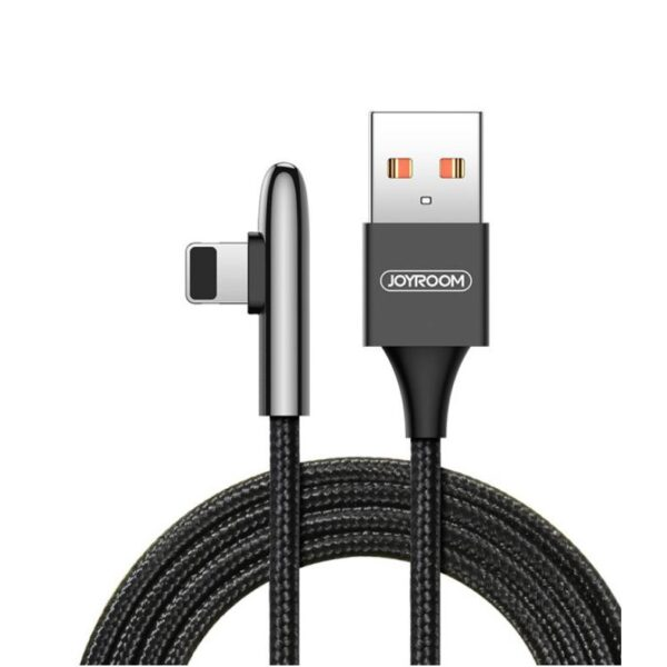 Joyroom Lightning 90 Degree Mobile Gaming 3A Fast Charging Cable