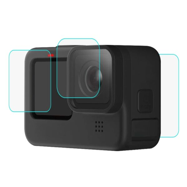 Tempered Glass Screen Protector for GoPro Hero 9 Black - 3 Piece