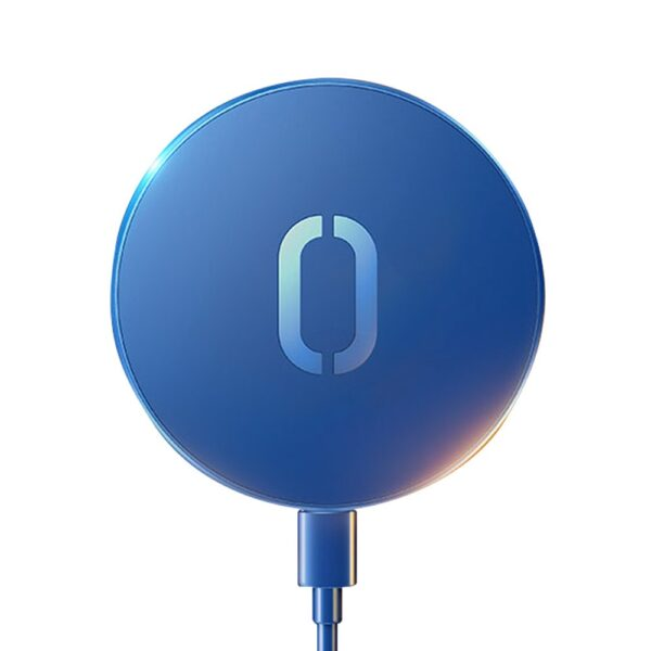 Joyroom 15W Wireless Magsafe Charger For iPhone 12 Series Blue