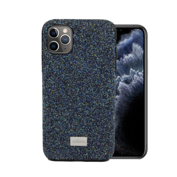 Glitter Cover For iPhone 12 Pro Max 6.7 inch Blue