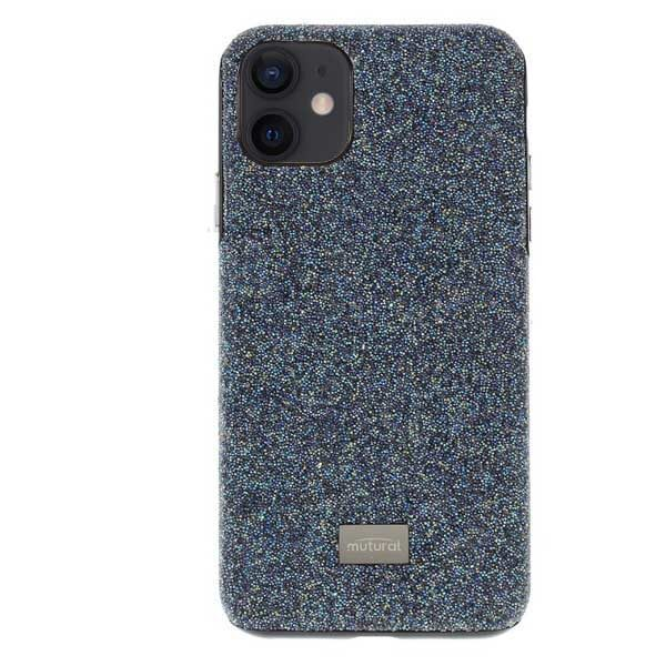 Glitter Cover For iPhone 12 Mini 5.4 inch Blue