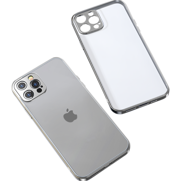 Joyroom Transparent Cover & Lens Protector iPhone 12