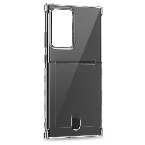 Transparent Cover With Card Slot Galaxy S20
