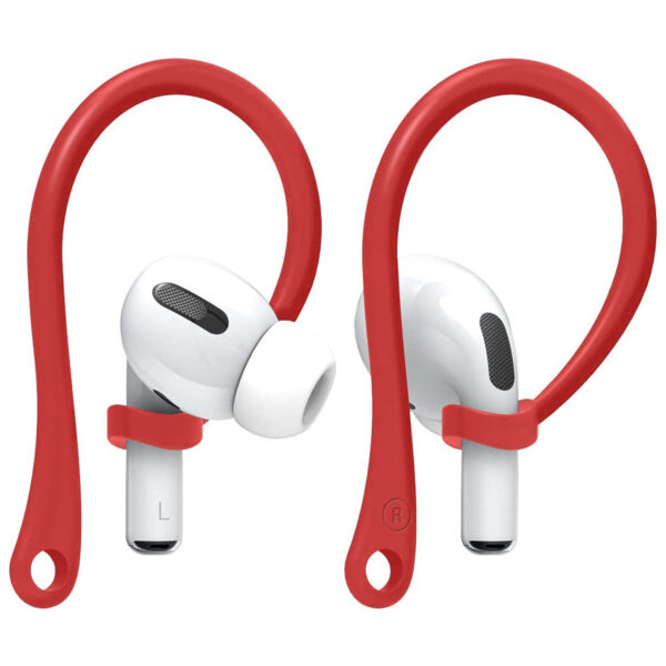 Anti-Loss Ear Hooks For AirPods Red