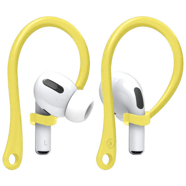Anti-Loss Ear Hooks For AirPods Yellow