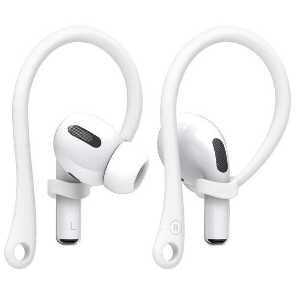 Anti-Loss Ear Hooks For AirPods White