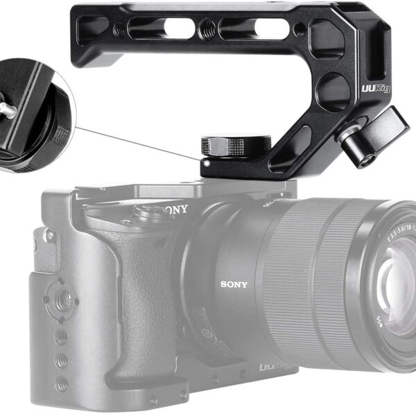 Ulanzi R008 Top Handle For Camera Cages With Arri Style Mounts