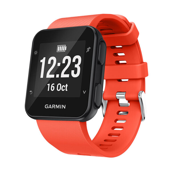 Silicone Replacement Band for Garmin Forerunner 35 Orange