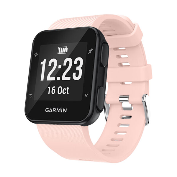 Silicone Replacement Band for Garmin Forerunner 35 Pink