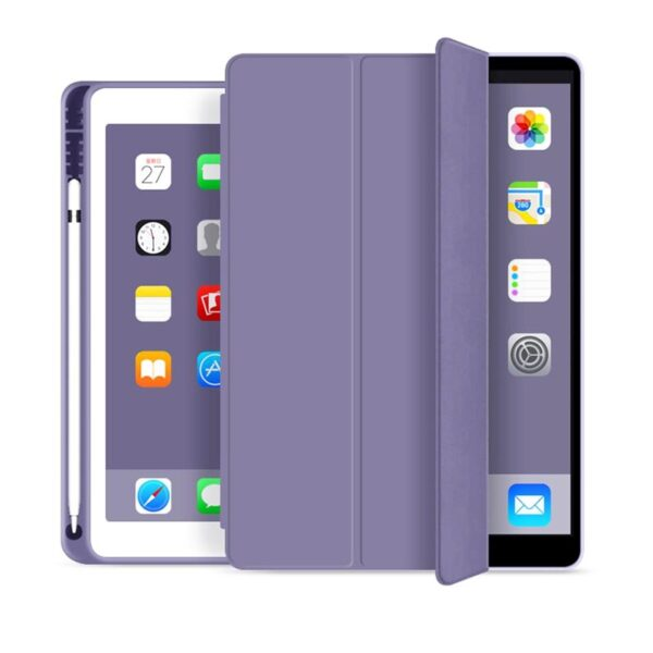 Flip Cover For iPad 10.2 inch 2020 & 2019 Lilac Grey
