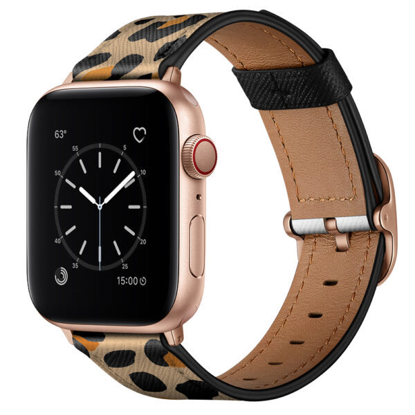 Replacement Strap Band For Apple Watch Animal Print