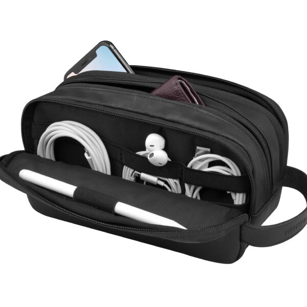 WiWU Travel Electronics And Cable Organizer Bag Pouch Camo