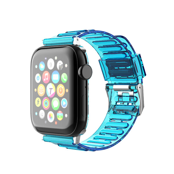 Clear TPU Strap Band For Apple Watch